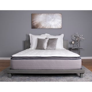 nuform affinity 13inch full xlsize pocketed coil gel pillow top mattress