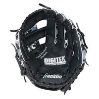 Franklin Sports Black/Whtie 10-inch Right-handed RTP Teeball Performance Glove