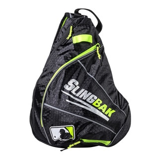 Franklin Sports MLB Slingbak Black Polyester Bag