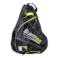 Franklin Sports MLB Slingbak Black Polyester Bag