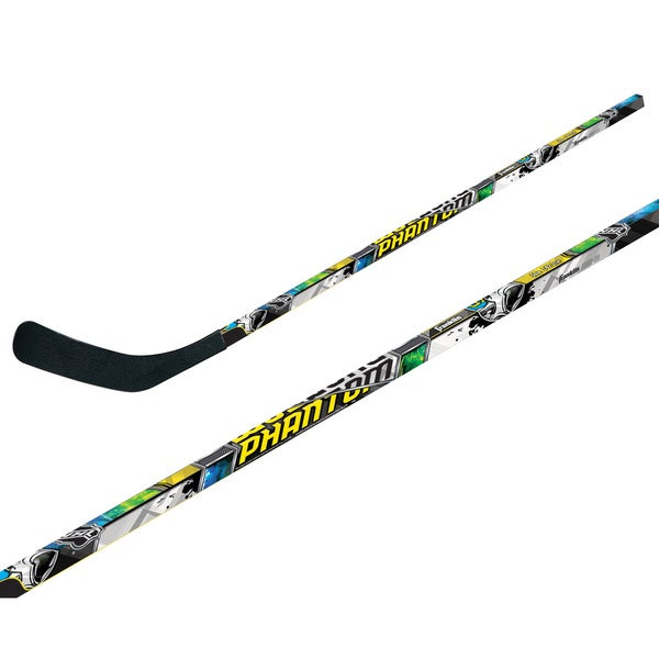 Franklin Sports NHL Multicolored Wood/ABS Right Shot Phantom Hockey Stick
