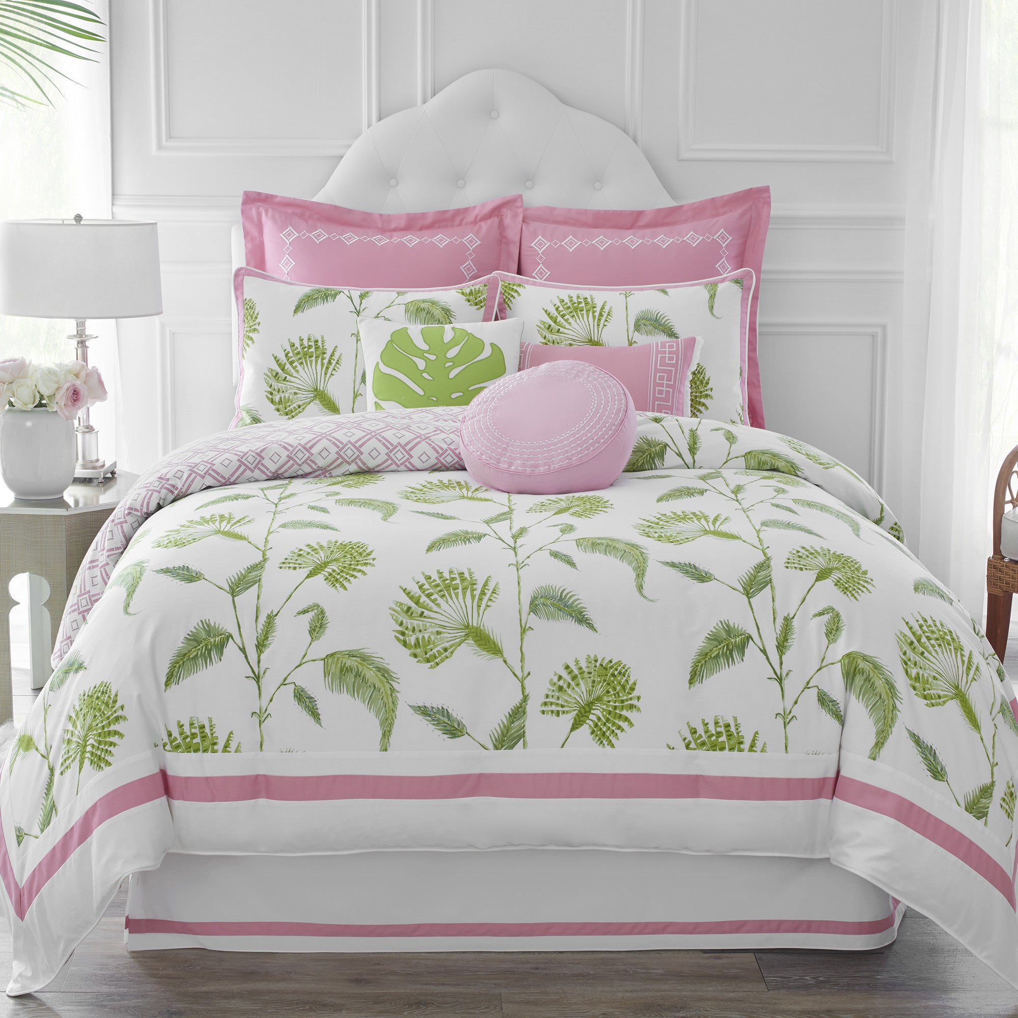 Shop Dena Home Palm Court Duvet Cover