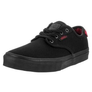 Vans Kids' Chima Ferguson Pro Black Canvas Skate Shoe