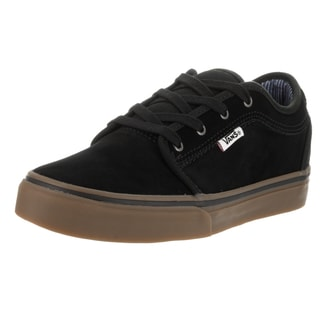 Vans Kids' Chukka Low Work Wear Black/Gum Skate Shoes