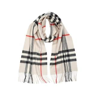 Burberry Stone Cashmere Check Scarf|https://ak1.ostkcdn.com/images/products/13344536/P20046857.jpg?impolicy=medium
