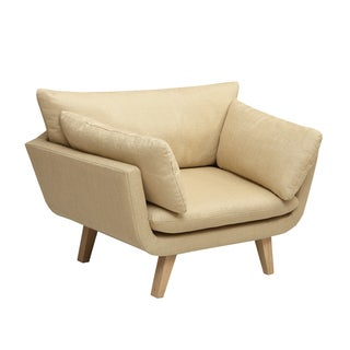 INK+IVY Kendall Cream Chair Lounger