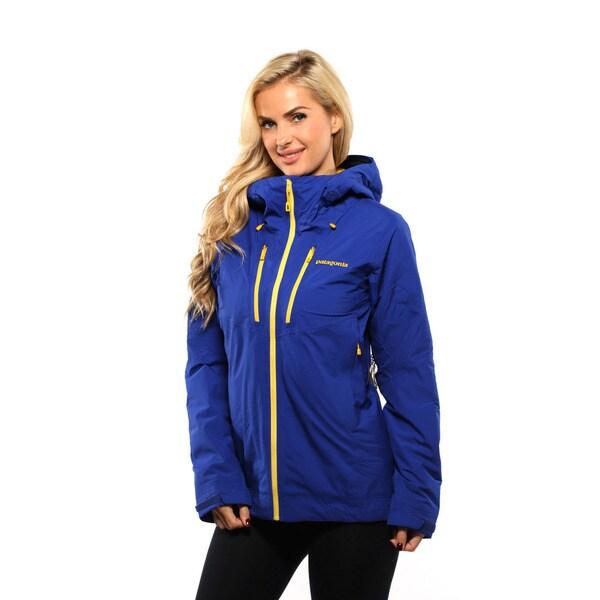 Patagonia Women's Harvest Moon Blue Stretch Nano Storm Jacket