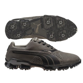 Puma Men's TitanTour Grey/ Black Golf Shoes