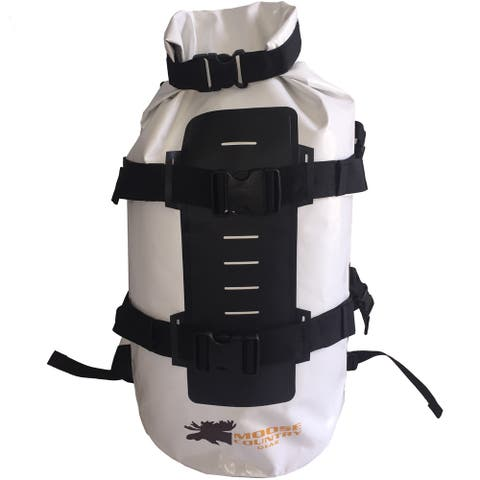 Moose Country Gear White PVC 50L Dry Bag