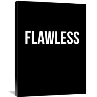 Naxart Studio 'Flawless Poster' Stretched Canvas Wall Art