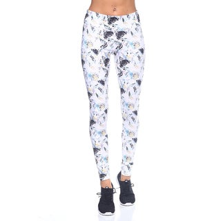Women's Yoga Print Nylon Legging
