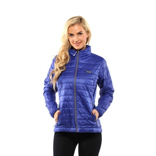Patagonia Women's Harvest Moon Blue Nano Puff Jacket