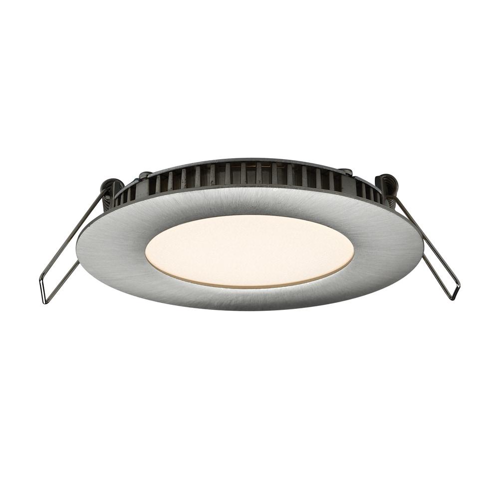 USA Dals 3-inch 6-watt LED Round Recessed Panel Light Cei...