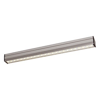 DALS White/Silvertone Aluminum LED Cove Light