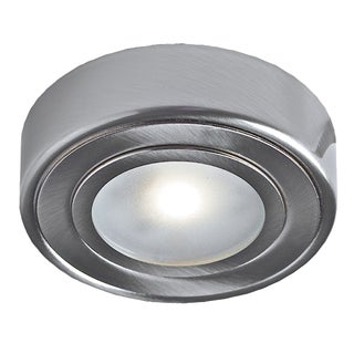 DALS 2.1W LED Under-cabinet Lighting Puck with Mount Adapter