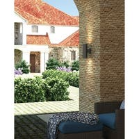 DALS Lighting 4-inch Outdoor LED Cylinder Wall Sconce
