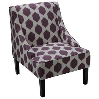 Cortesi Home Celene Accent Chair (Option: Purple)