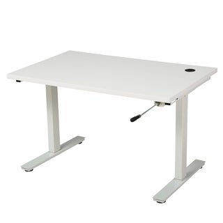 Christopher Knight Home Edison 58-inch Desk with Adjustable Height and Manual Base
