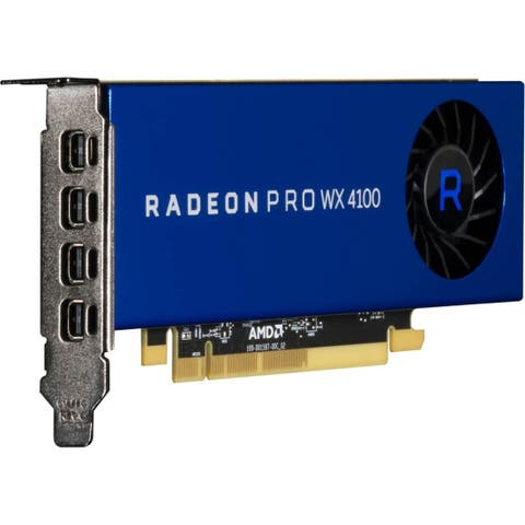 AMD Radeon Pro WX 4100 Graphic Card - 4 GB GDDR5 - Low-profile
