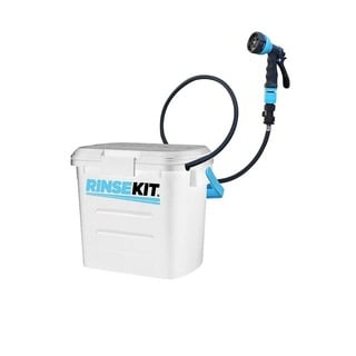 RinseKit 2-gallon Portable Shower and Sprayer