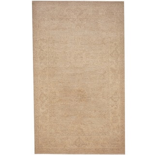 Herat Oriental Afghan Hand-knotted Tribal Oushak Wool Rug (3'1 x 5'2)