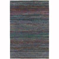 """Artist's Loom Hand-Woven Contemporary Solid Pattern Rug (7'9""""x10'6"""")"""