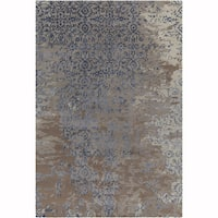 """Artist's Loom Hand-Tufted Contemporary Abstract Pattern Rug (7'9""""x10'6"""") - Grey/Brown - 7'9 x 10'6"""