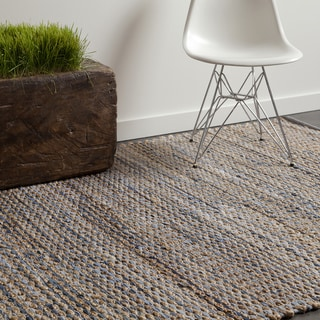 Link to Artist's Loom Flatweave Contemporary Solid Pattern Rug Similar Items in Rustic Rugs