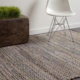 "Artist's Loom Flatweave Contemporary Solid Pattern Rug (7'9""x10'6"")"