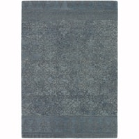 """Artist's Loom Hand-Tufted Contemporary Graphic Pattern Wool  Rug (7'9""""x10'6"""")"""