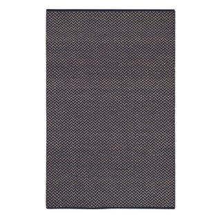 Allie Flat Woven Rugs Navy ( 2' x 3')