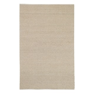 Allie Flat Woven Rugs Beige ( 2' x 3')