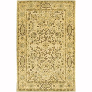 """Artist's Loom Hand-Tufted Traditional Oriental Pattern New Zealand Wool Rug (7'9""""x10'6"""")"""
