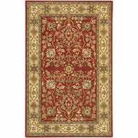 "Artist's Loom Hand-Tufted Traditional Oriental Pattern New Zealand Wool Rug (7'9""x10'6"")"