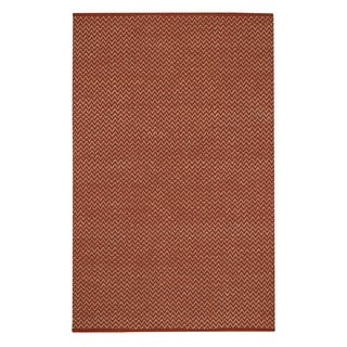 Allie Flat Woven Rugs Clay ( 3' x 5')