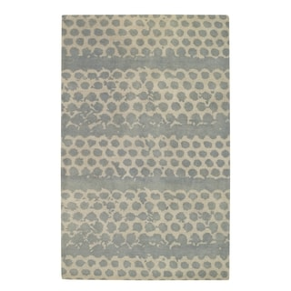 Hickssss Hand Tufted Rugs Spa ( 5' x 8')