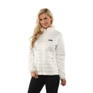 Patagonia Women's Birch White Nano Puff Jacket