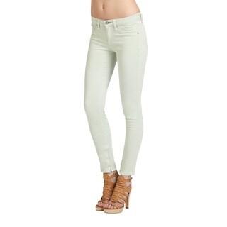 Rag Bone Women's Distressed Mint Viscose-blend Crop Jeans