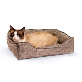 K&H Amazin' Kitty Lounge Sleeper Bed