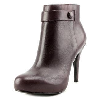 Nine West Women's 'Go With It' Purple Leather Boots