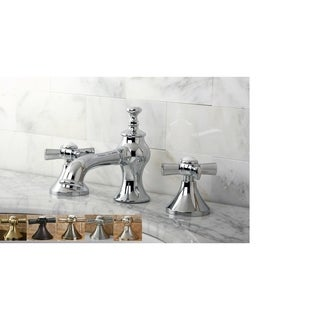 Vintage Moderno Cross Widespread Bathroom Faucet (5 options available)