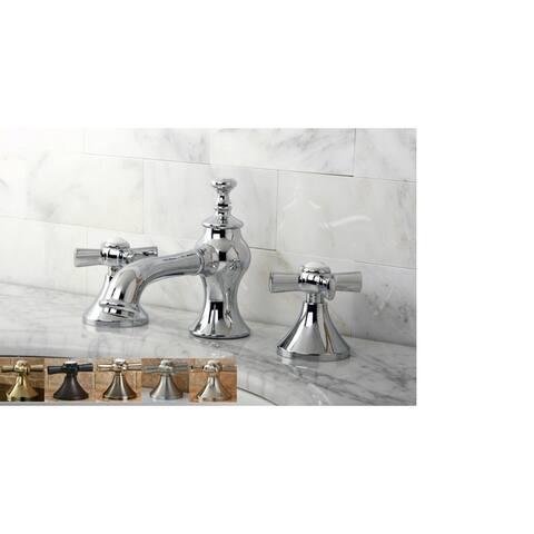 Vintage Moderno Cross Widespread Bathroom Faucet