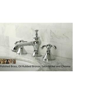 Country Cross Widespread Bathroom Faucet