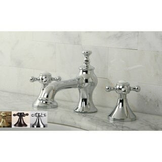 Vintage Cross Widespread Bathroom Faucet