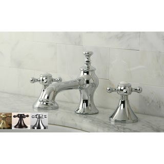 Charmant Vintage Cross Widespread Bathroom Faucet