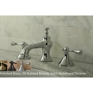 Country Lever Widespread Bathroom Faucet
