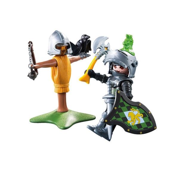 Playmobil Unisex Lion Knight Figure With Training Dummy