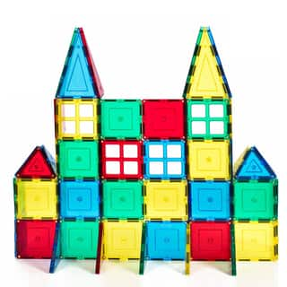 Discovery Kids 24 Piece Magnetic Tile Set Free Shipping