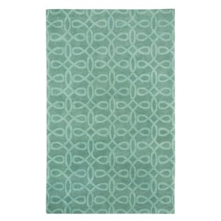 Bridal Veil Hand Knotted Rug Sterling Mass ( 7' x 9')