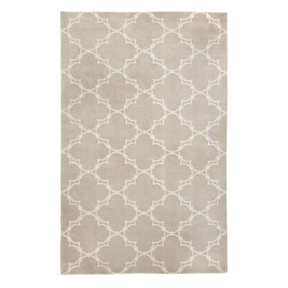 Penn Hand Knotted Rug Champagne ( 7' x 9')